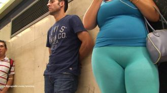 blue pawg hot cameltoe GLUTEUS DIVINUS