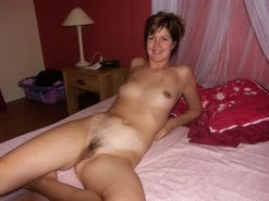Short haired amateur milf