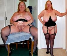 The Wow effect of a mature bbw with top class looks