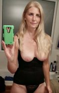 Old Dried Up GILF Shows Off Her Saggy Tits And Worn Holes
