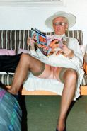 Gran loves her porn mags